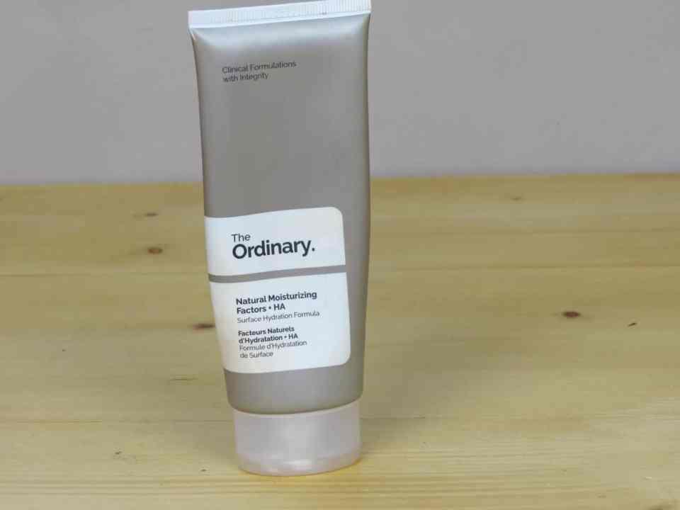 The Ordinary natural moisturizing met hyaluronzuur, zeer hydraterend, ontstekingsremmend,