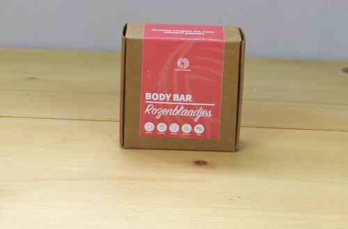 Body bar rozenblaadjes