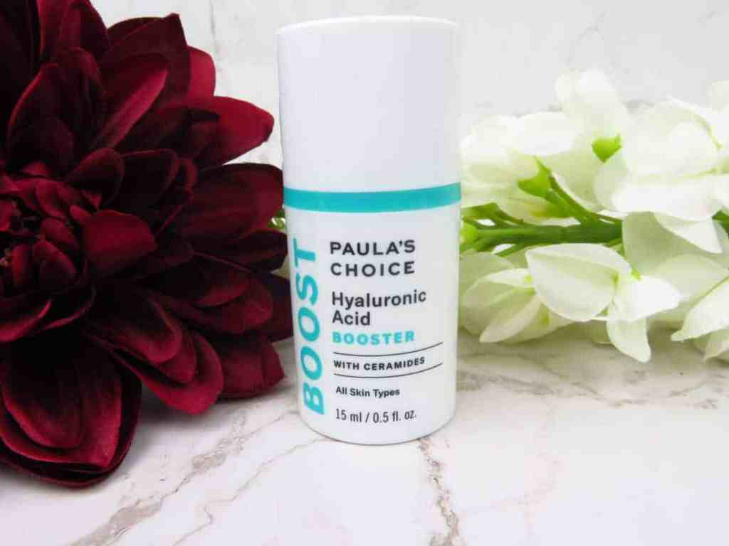 Paula's Choice hyaluronic acid booster, hyaluronzuur, hydraterend, hydratatie booster, serum, huidverzorging, skincare