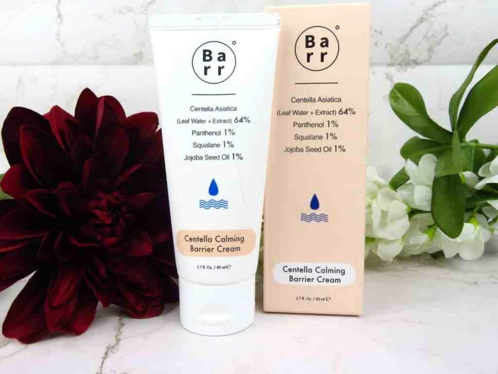 Barr moisturizer centella barrier cream