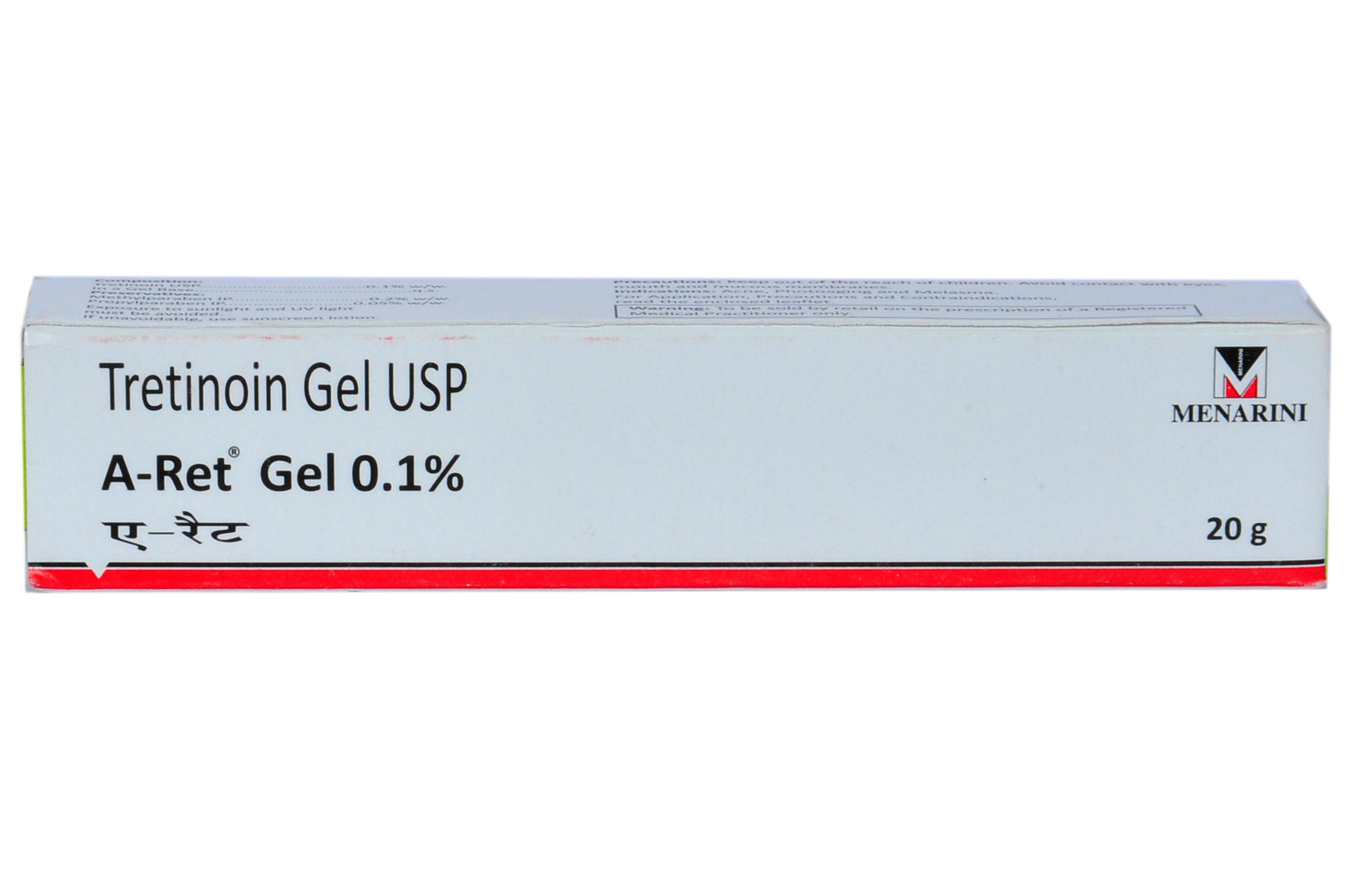 Retinol Vitamin A 0.1/% Authentic 15g