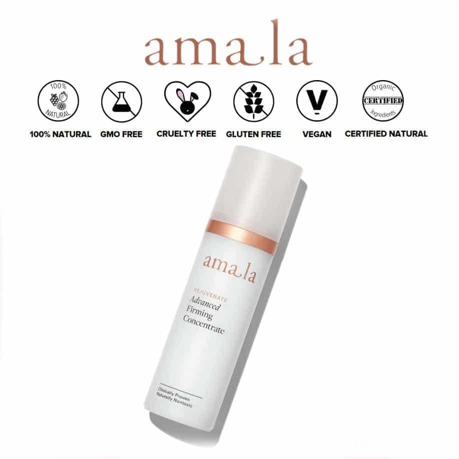*AMALA – ADVANCED FIRMING CONCENTRATE ORGANIC SERUM   $298  