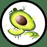 Organic Avocado Oil as Ingredient in Organic Body Lotion