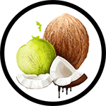 Organic Coconut Oil as Ingredient in Organic Body Lotions