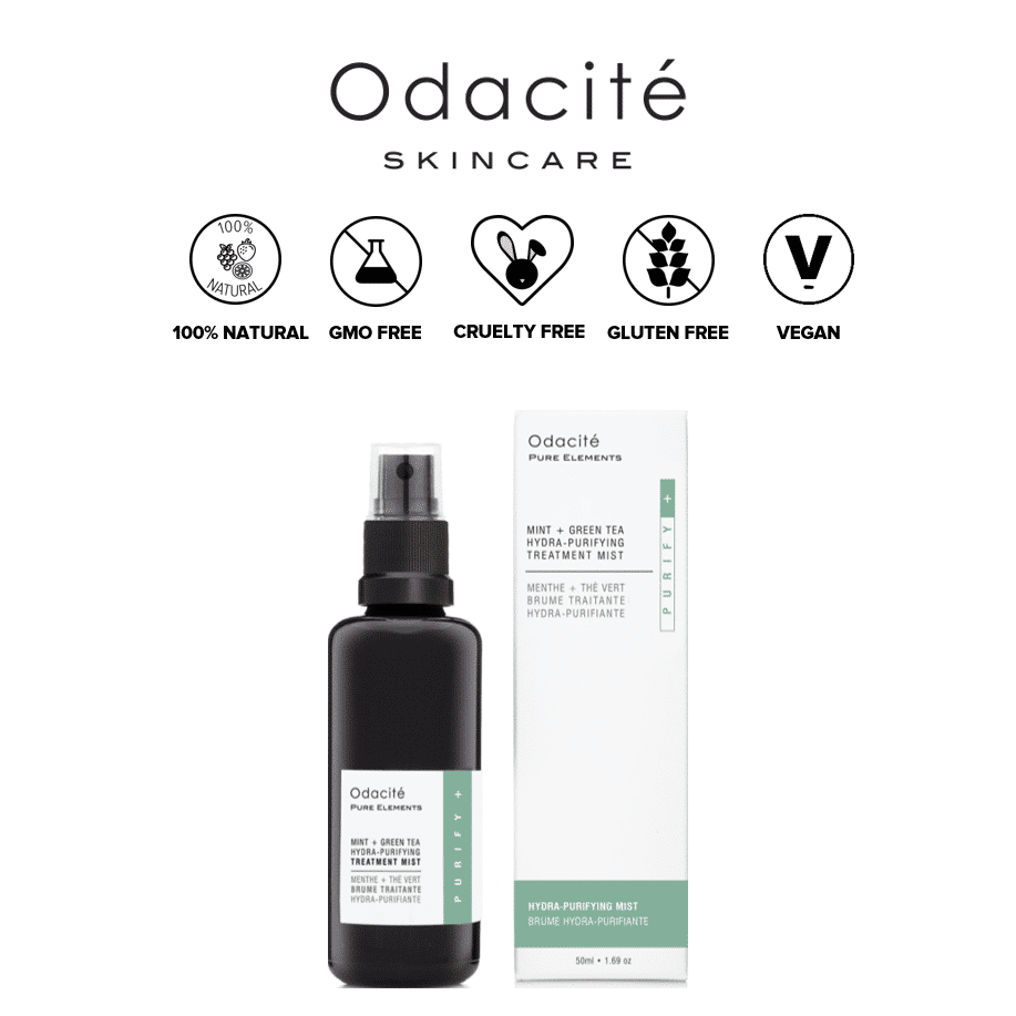 *ODACITE – MINT + GREEN TEA HYDRA-PURIFYING TREATMENT MIST | $42 |