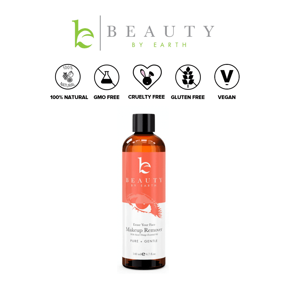 *BEAUTY BY EARTH – ALL NATURAL & ORGANIC MAKEUP REMOVER | $16.99 |