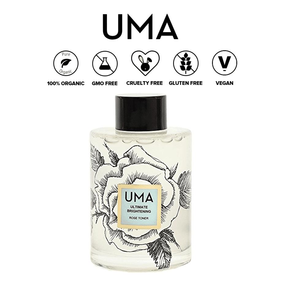 *UMA – ORGANIC BRIGHTENING ROSE WATER TONER | $65 |