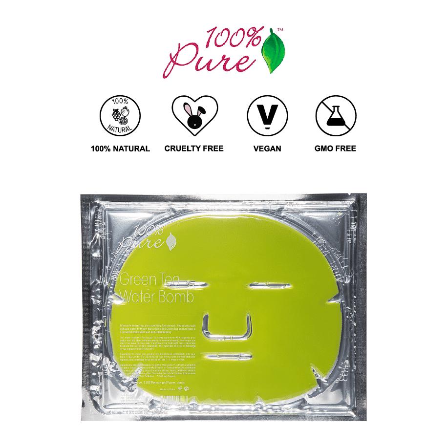 *100% PURE – GREEN TEA WATER BOMB SHEET MASKS | $8 |