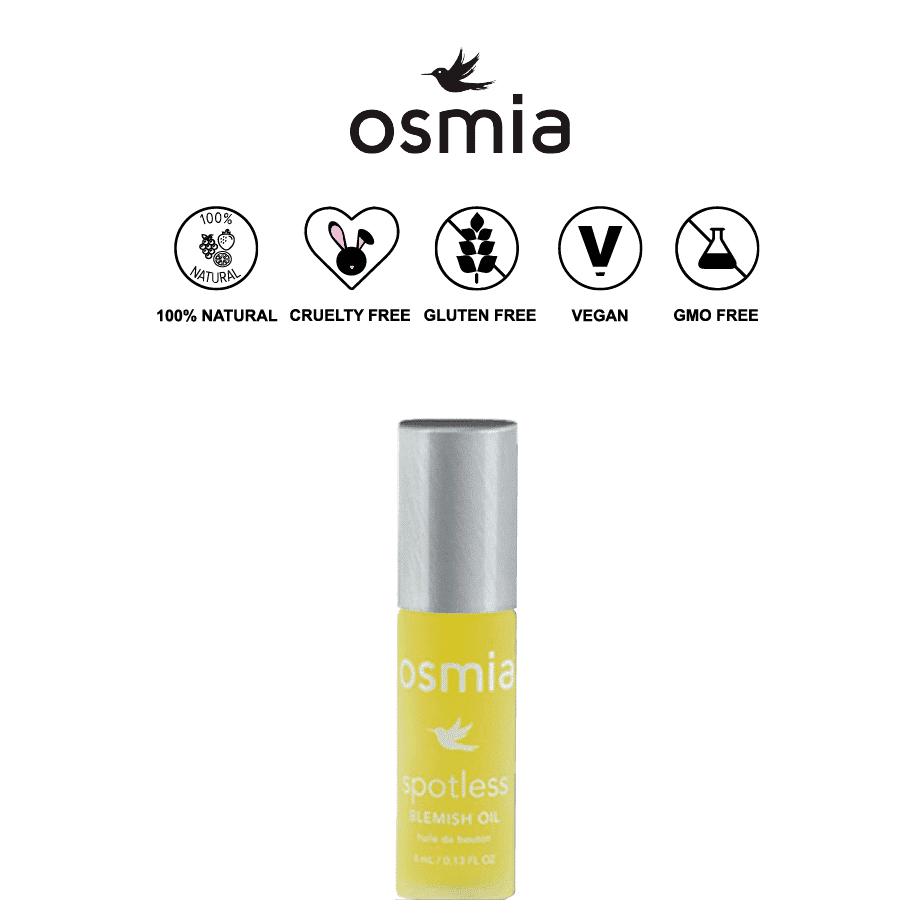 *OSMIA ORGANICS – ORGANIC SPOTLESS BLEMISH TREATMENT OIL | $22 |