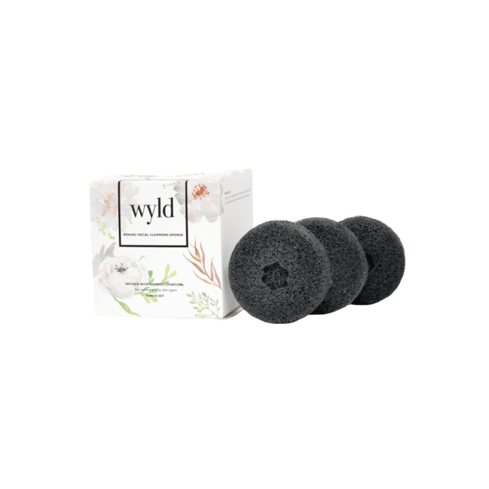WYLD Skin Care Charcoal Natural Konjac Sponge   $15  