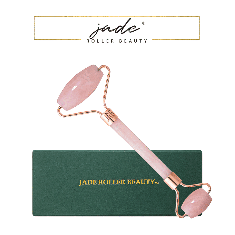 *JADE ROLLER BEAUTY – ROSE QUARTZ LUXURY FACIAL ROLLER   $68  