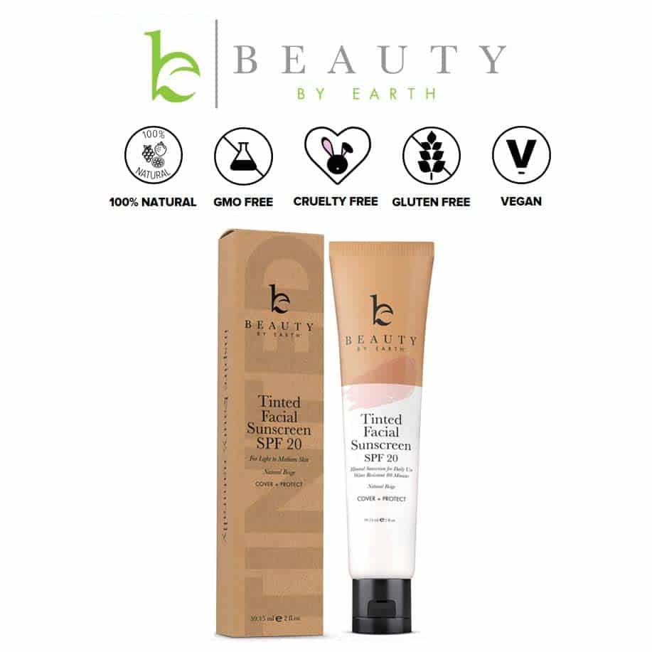 *BEAUTY BY EARTH – TINTED SPF 30 DAILY FACIAL PRIMER | $19.99 |