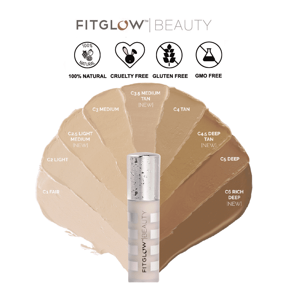 *FITGLOW BEAUTY – CONCEAL+ NATURAL CONCEALER | $42 |