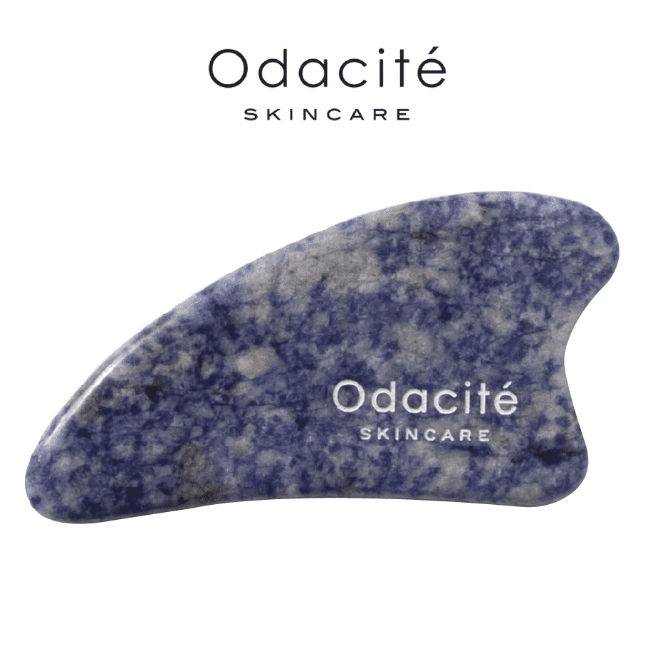 *ODACITE – CRYSTAL CONTOUR BLUE SODALITE GUA SHA | $45 |
