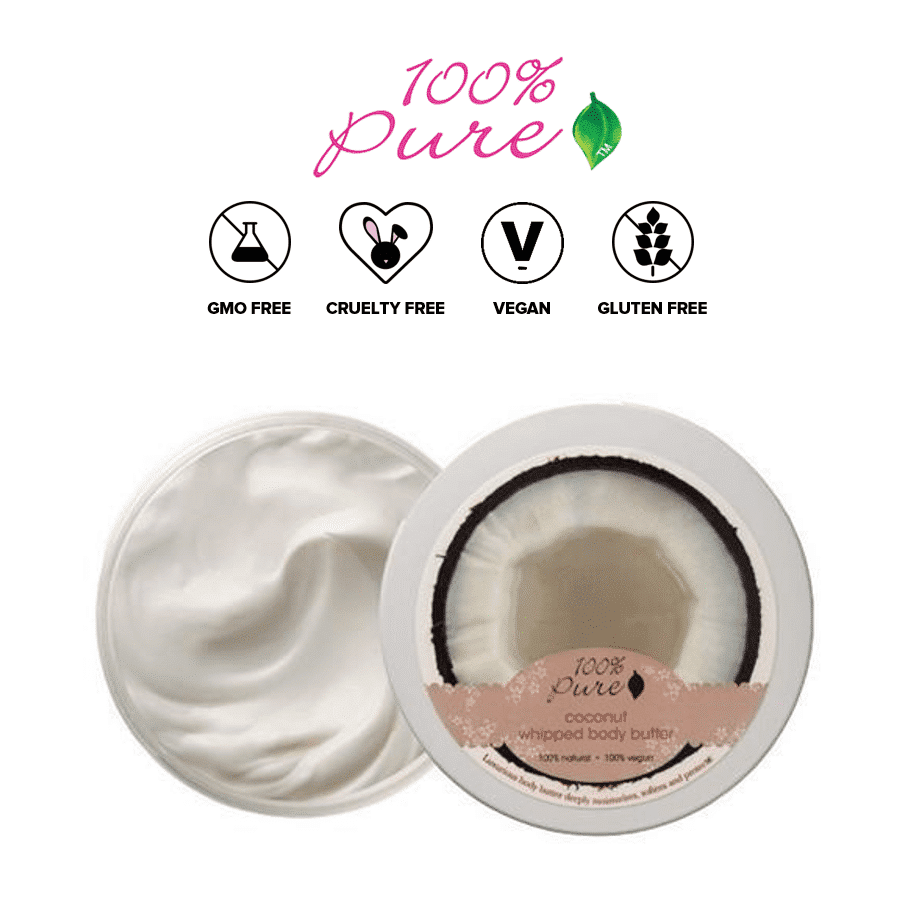 *100% PURE – COCONUT ORGANIC WHIPPED BODY BUTTER | $29 |