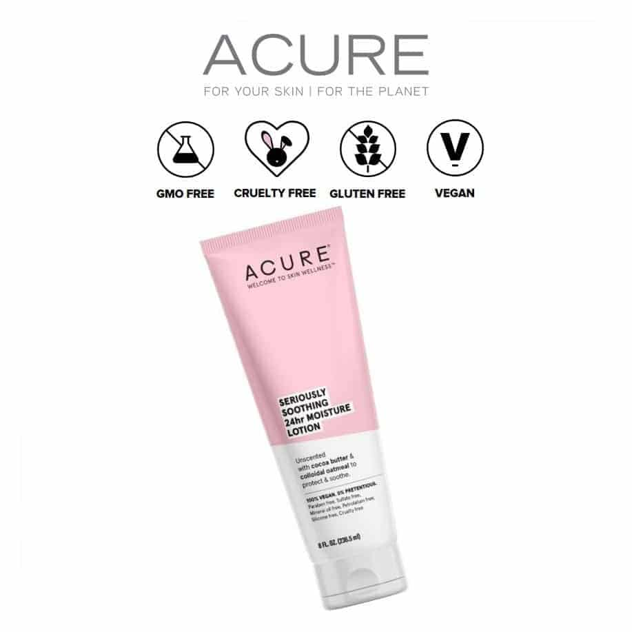 *ACURE – SERIOUSLY SOOTHING 24HR NATURAL BODY LOTION | $11.99 |