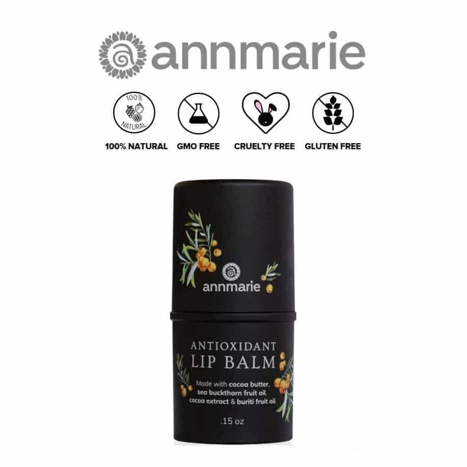 *ANNMARIE – ANTIOXIDANT ORGANIC LIP BALM   $10  