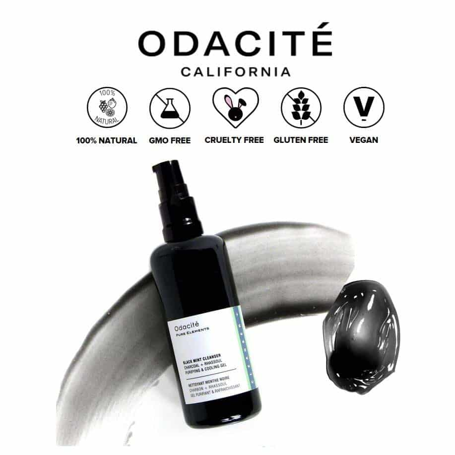*ODACITE – BLACK MINT ALL NATURAL FACE WASH | $39 |