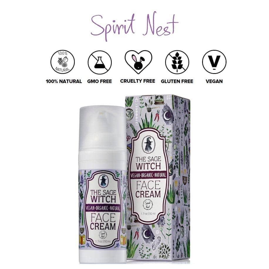 *SPIRIT NEST – THE SAGE WITCH ORGANIC MOISTURIZER | $19.95 |