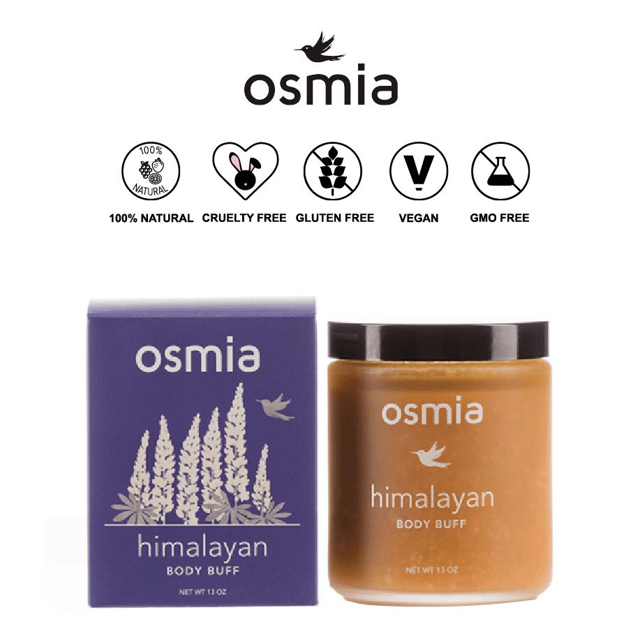*OSMIA ORGANICS – HIMALAYAN NATURAL BODY SCRUB | $42 |