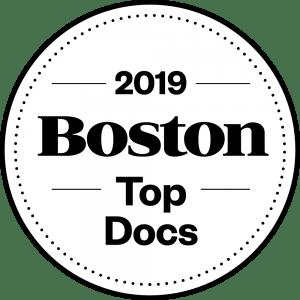 Boston Magazine Top Docs logo 2019