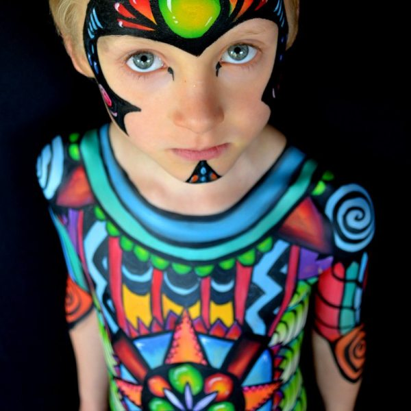 Face Painting & Body Art Costume Party Ideas Skincognito