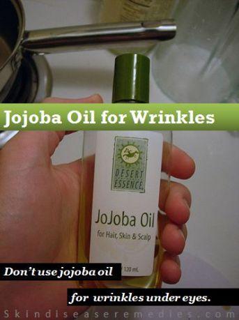 jojoba oil for face wrinkles and eye wrinkles