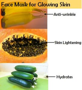 papaya face mask for glowing skin