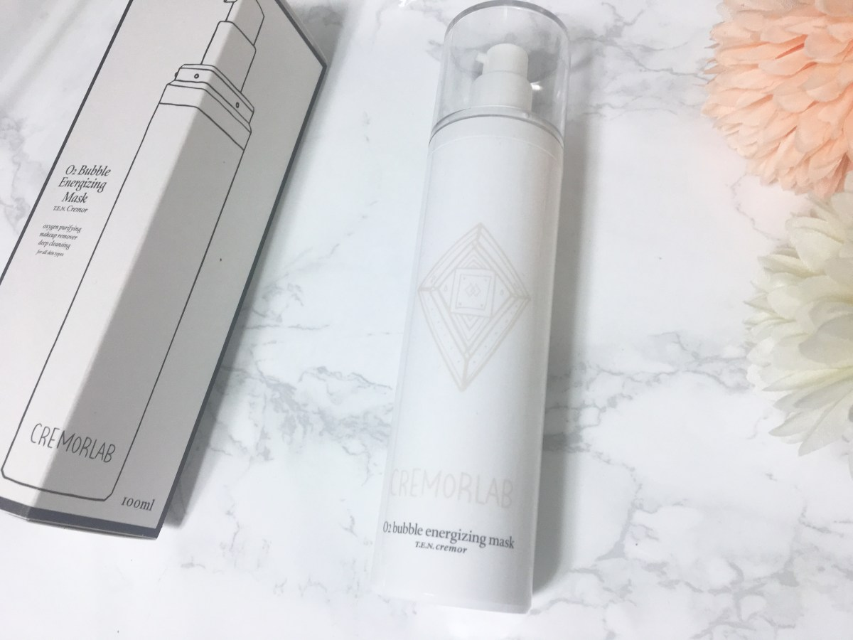 Review: Cremorlab O2 Bubble Energizing Mask