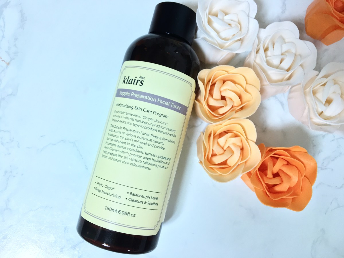 Review: Klairs Supple Preparation Facial Toner