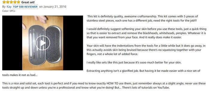 BESTOPE-Blackhead-Remover-customer-review-1