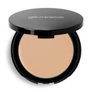Glominerals Pressed Base is one holy grail powder that tones down redness and has real staying power.