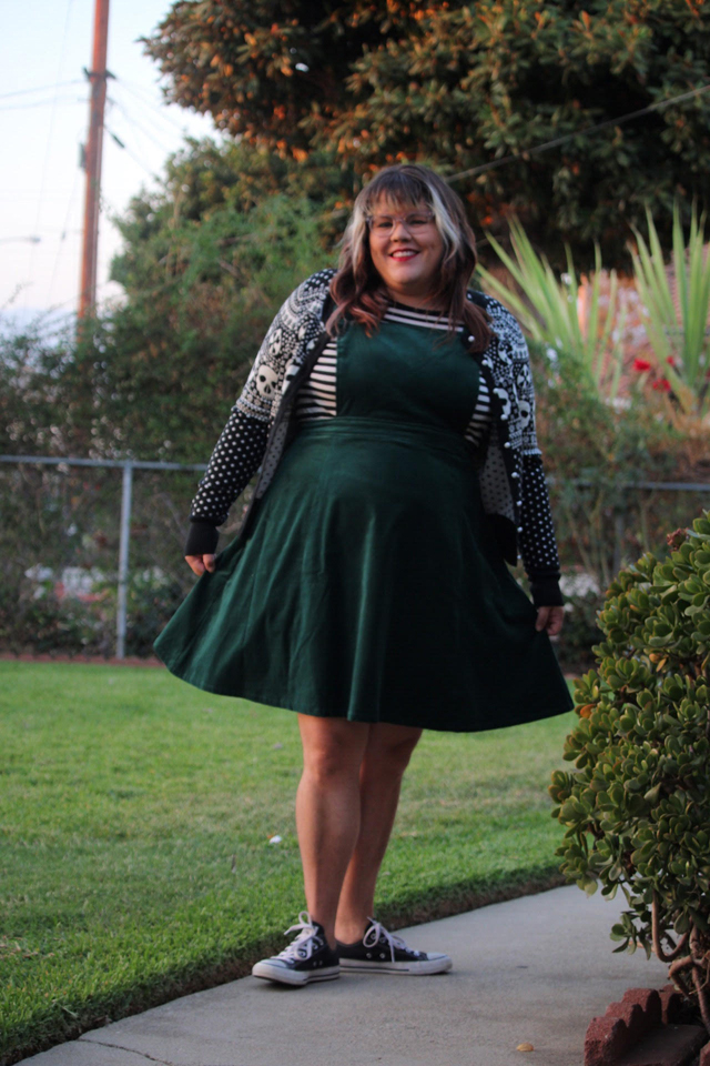 Fatshion: Spooky Fall Look with Modcloth
