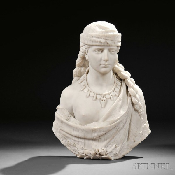 19th Century Marble Sculpture Skinner Auctioneers