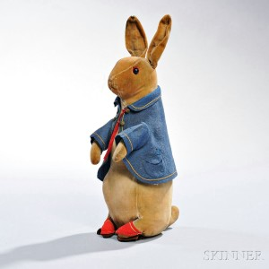 Steiff Peter Rabbit, Germany, early 20th century (Lot 101, Estimate $2,000-$3,000)