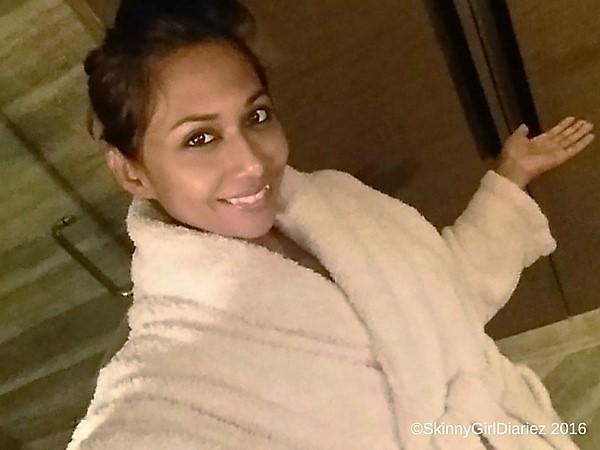 All set for the Spa treatment - No Makeup Selfie a must@ Shangril-La Bangalore