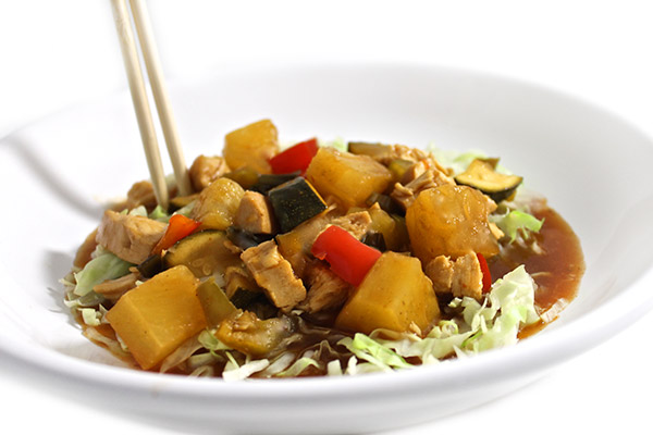 panda express kung pao chicken skinnyfied with weight