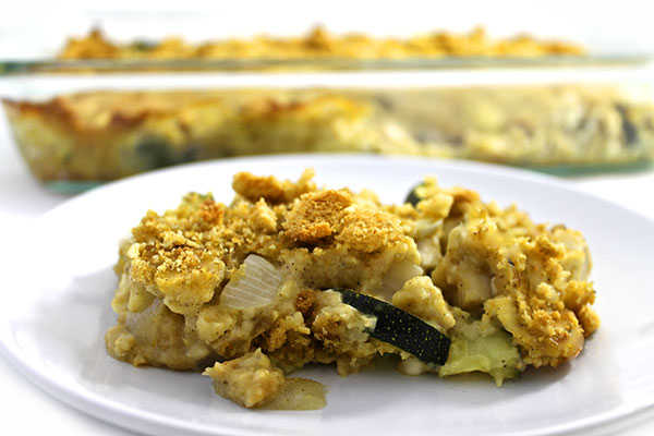 Skinny Chicken Vegetable And Stuffing Casserole With Weight Watchers Points Skinny Kitchen