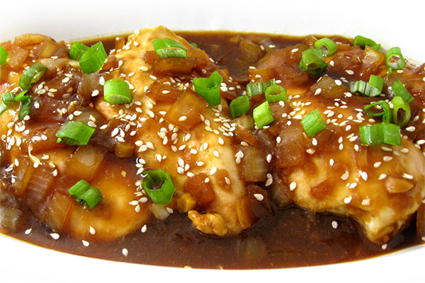 Oven Baked Sesame Ginger Chicken With Weight Watchers Points Skinny Kitchen