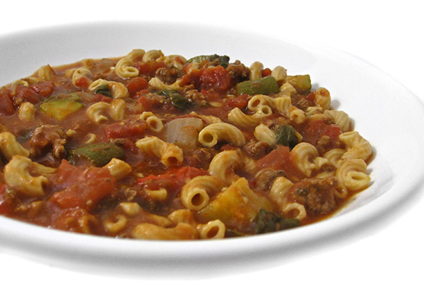 beef-and-macaroni-stew photo