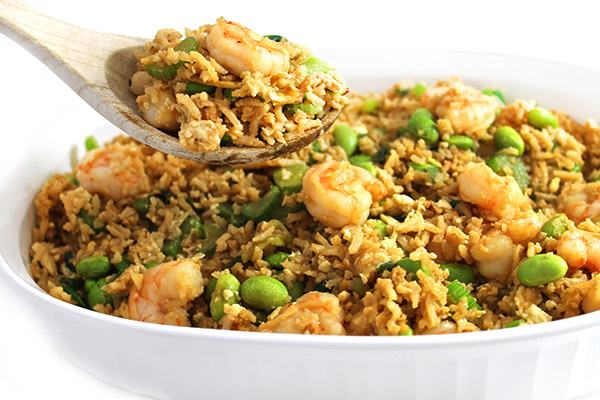 Shrimp Fried Rice Made Skinny With Weight Watchers Points Skinny