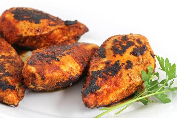 Easy And Fabulous Blackened Chicken Breasts With Weight Watchers Points Skinny Kitchen