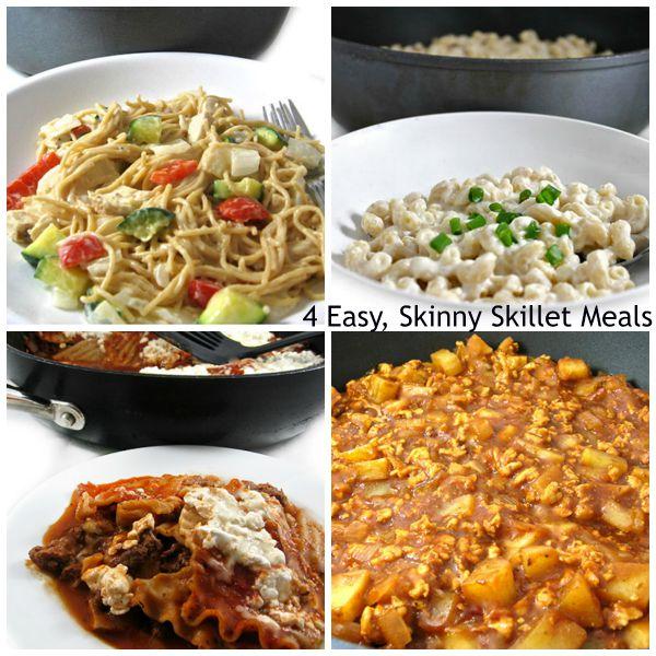 4 skinny skillet meals