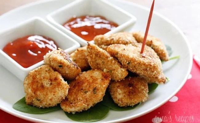 Healthy Baked Chicken Nugget Recipe