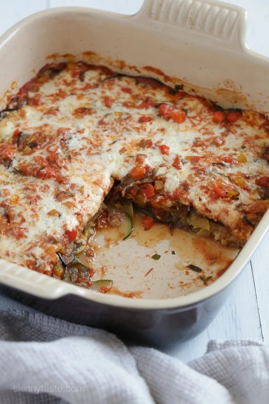 Baked Ratatouille with Cheese-8