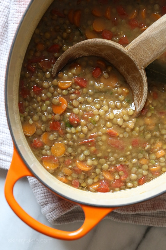For busy families looking for delicious, healthy meals that will keep everyone's stomachs full and happy, lentils are economic, easy to prepare and make enough for plenty of leftovers!