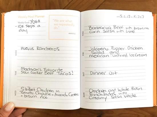 Skinnytaste Dinner Plan (Week 73)