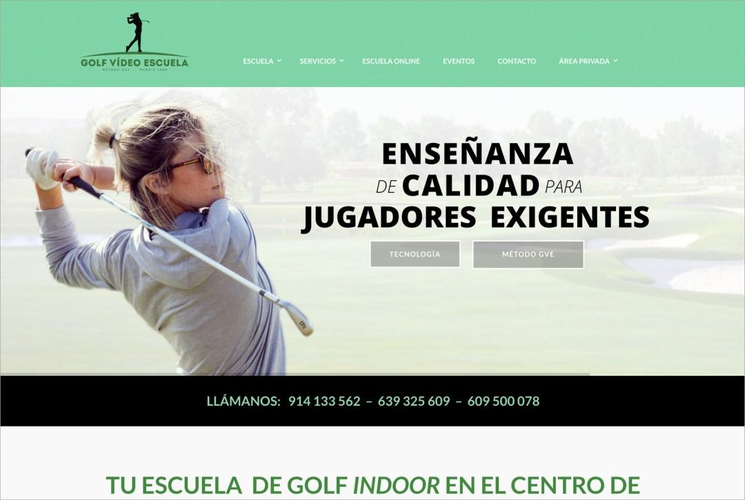 Golf Vídeo Escuela – Web