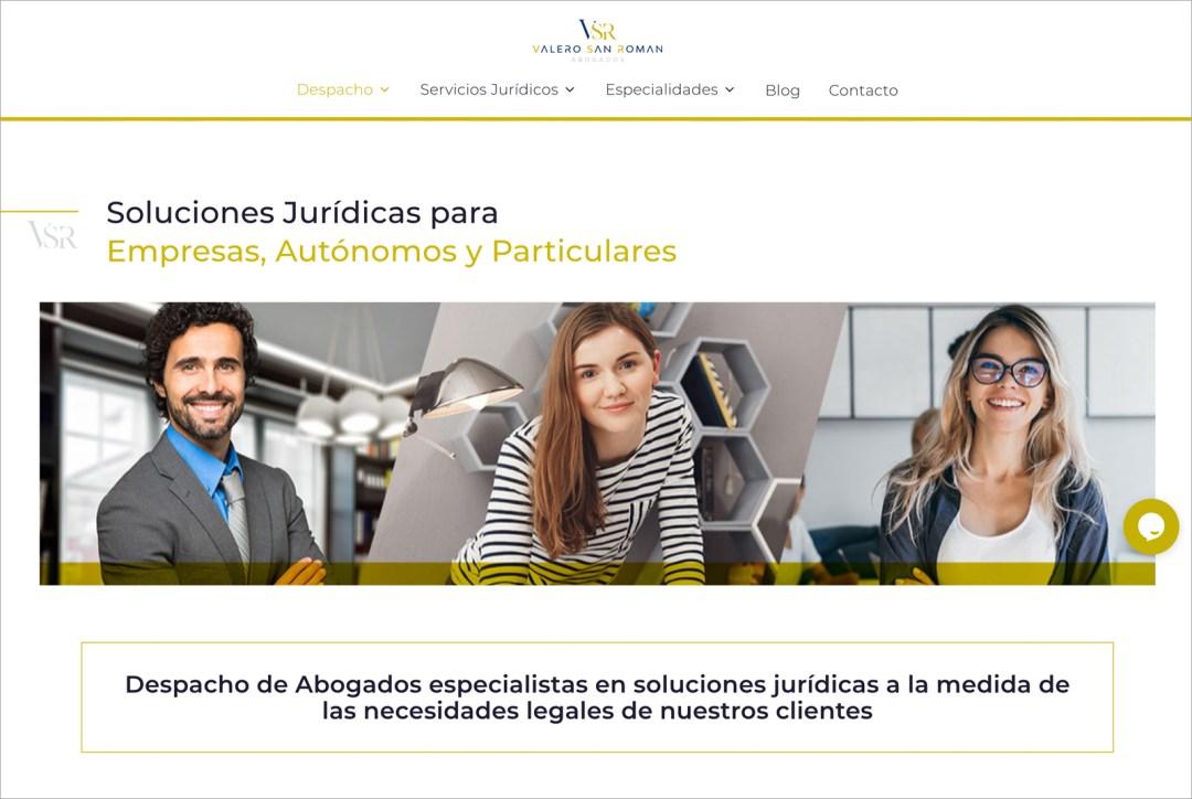 Valero San Román – Web