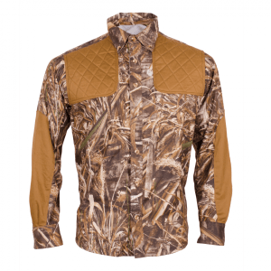Men's Classic Cameo Long Sleeve Hunting Shirt Front